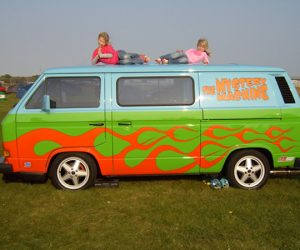 A new take on the Mystery Machine