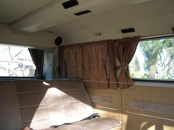 Adding curtains to a non camper Vanagon Vanagon Hacks