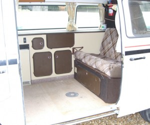Non-Westy Vanagon interior