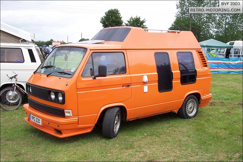 Orange Vw T25 High Top With Sun Roof Vanagon Hacks