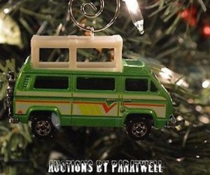 Vanagon Christmas Ornament