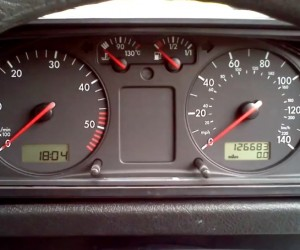 Passat instrument cluster works in a Vanagon