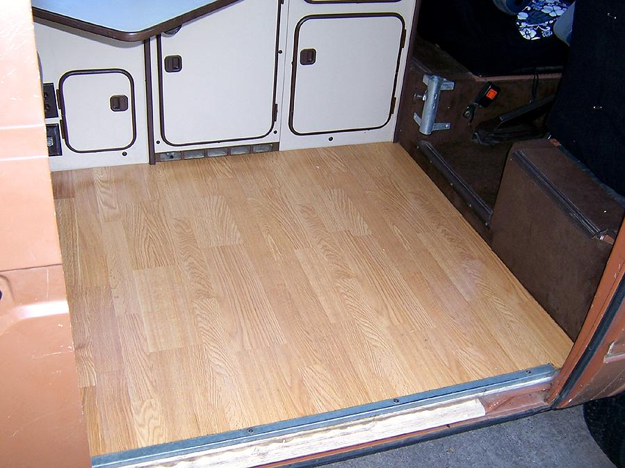 Pergo Floor In The Vanagon Vanagon Hacks Amp Mods