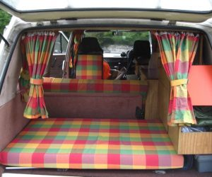 Plaid interior by DubWorks