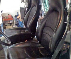 Porsche 911 seats in the Vanagon