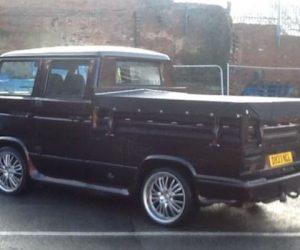 Purple Doka fully restored with bespoke steering wheel