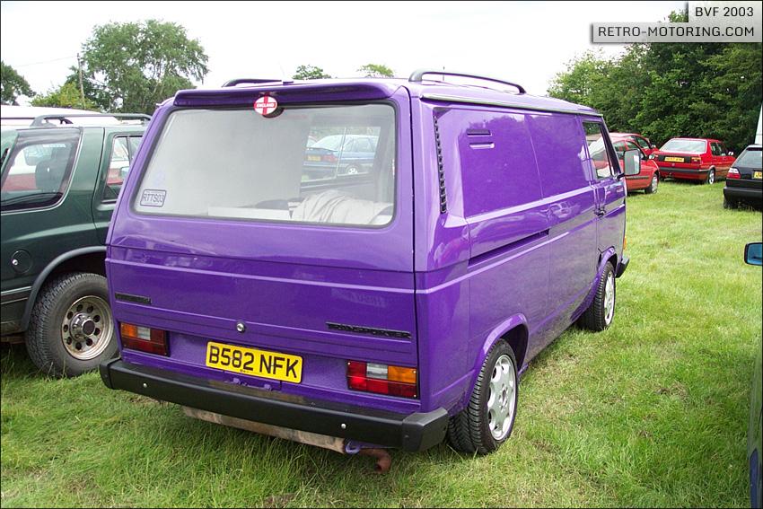 2016 Volkswagen Camper Van >> Purple Transporter with roof racks and spoiler | Vanagon ...