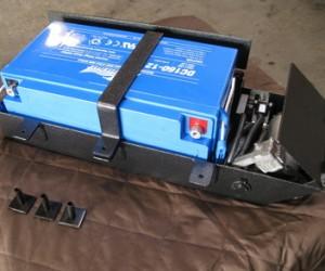 Undermount PV Battery Tray mod