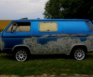 Custom Vanagon side window
