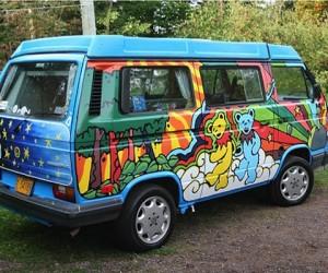 Extreme custom Vanagon paint jobs