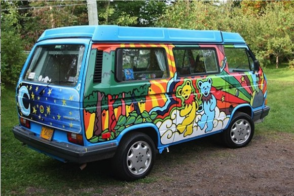 Extreme custom Vanagon paint jobs
