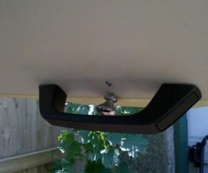 Rear door interior release mod