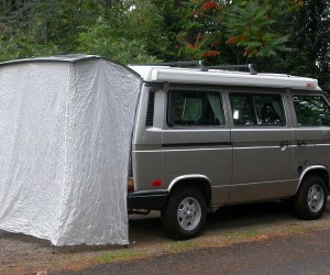 A rear tent gives you lots of options for your Vanagon