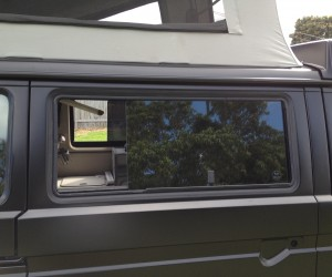 Reversing the sliding windows in your Vanagon