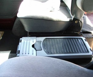 Rugged center console by Rally