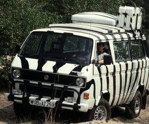 Another Safari Zebra Vanagon