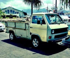 Single cab VW Truck in Paradise