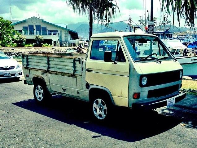 single cab vw truck  paradise vanagon hacks mods vanagonhackscom