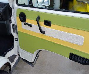 Snake skin door panels