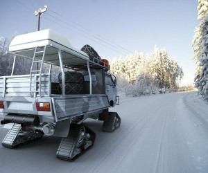 Vanagon snow mobile concept