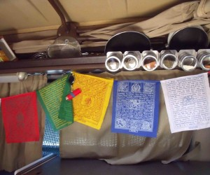 Vanagon Spice Rack mod and other customizations