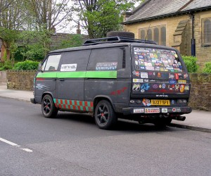The Sticker Vanagon