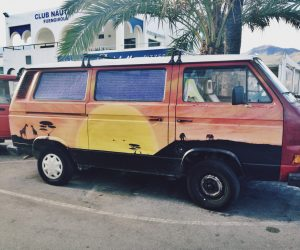 The Sunset Vanagon