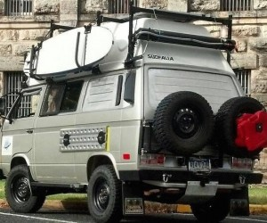 This Syncro Expedition Vehicle is a beast