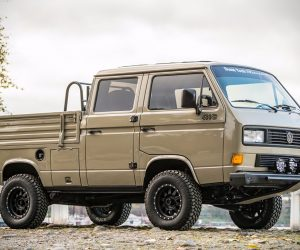 Modified 1989 Volkswagen T3 Doka Syncro