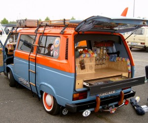 The ultimate beach Vanagon