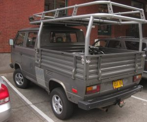 Custom Syncro Transporter with crazy rear rack