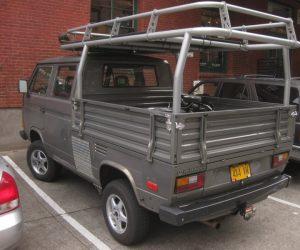Custom Syncro Transporter with crazy rear rack