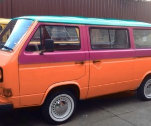 Tri-color Vanagon
