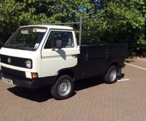 Two-tone Single Cab Syncro Truck