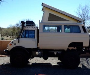 1979 MERCEDES UNIMOG 416 EXPEDITION CAMPER