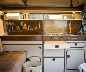 Vanagon Utensil Storage