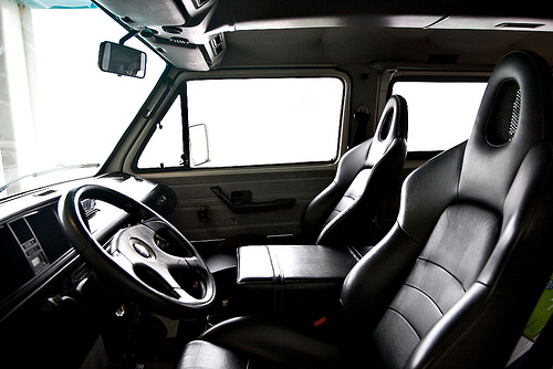 Awesome Vanagon Leather Interior