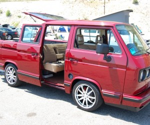 Insanely gorgeous Vanagon truck conversion