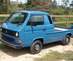 1984 Vanagon turned truck