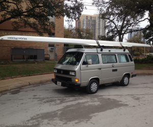 What do you carry on your Vanagon's roof?