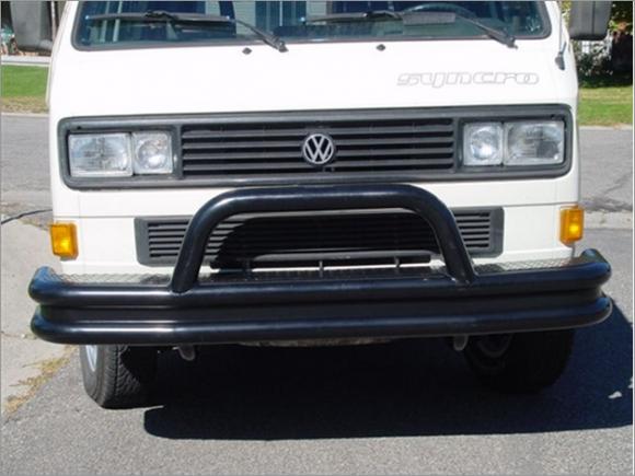 Custom Vanagon Bumper Options