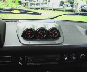 Vanagon gauges placement ideas