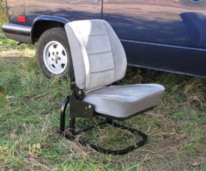 Use your Vanagon jump seat outside the van