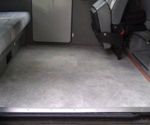 Vinyl floor tile upgrade