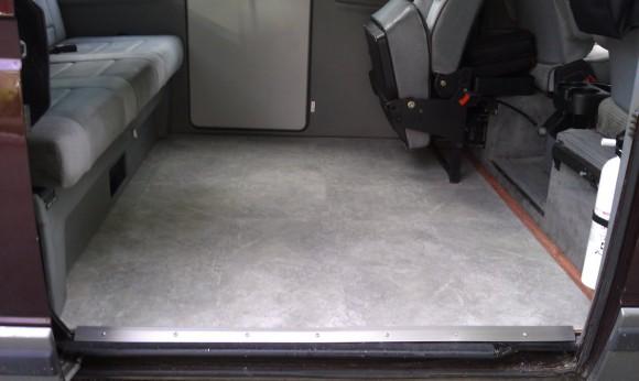 vanagon tile floor