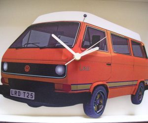 Vanagon Wall Clock
