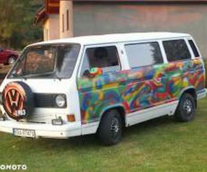 The watercolor Vanagon