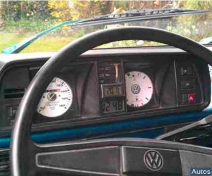 White faced gauges in the Vanagon