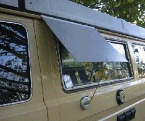 Vanagon kitchen window awning hack