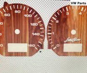 Wood Style Instrument Overlay